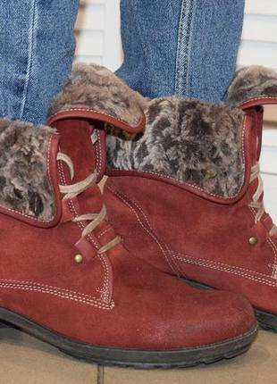 Зимние ботинки josef seibel