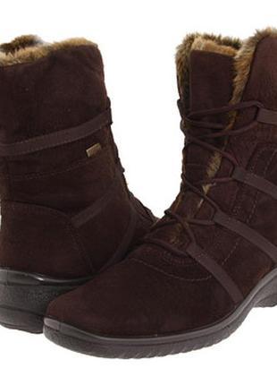 Термо ботинки,полусапоги,сапоги зимние ara