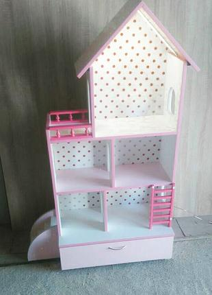 Домик для кукол кукольный домик