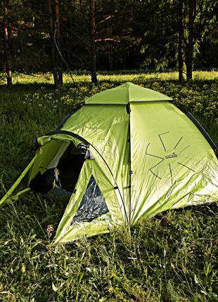 Палатка Norfin Hake 4 (NF-10406) Четырехместная Полуавтомат