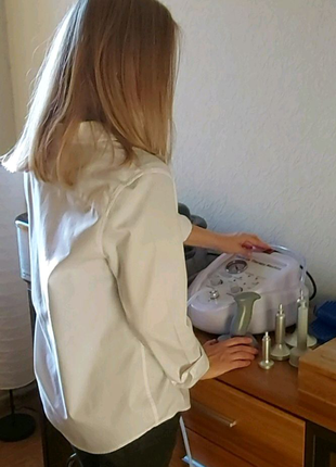 Работа массажиста