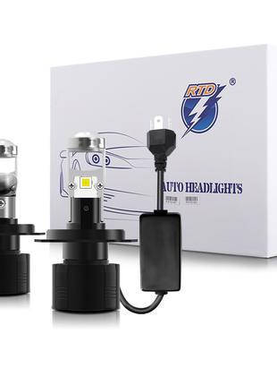 Светодиодные LED лампы H7 с линзой. Авто лампа Лед H7 5700К