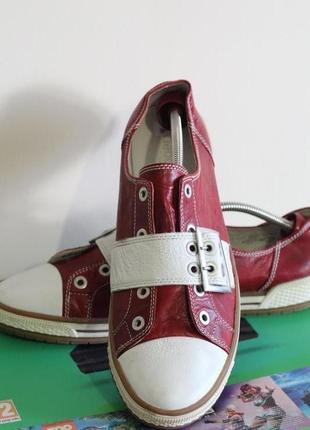 Мужские кожаные туфли, мокасины gabor 45-46