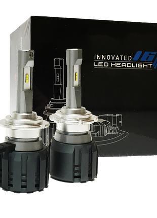 Светодиодные Led Лампы D2S с обманкой 52Вт 5500Lm 6000K. Авто лед