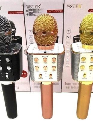 Мобільний караоке-мікрофон WSTER
