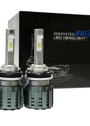 Светодиодные Led Лампы H11 с обманкой 52Вт 5500Lm 6000K. Авто лед