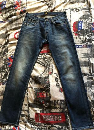 Мужские зауженные джинсы Lee Jeans