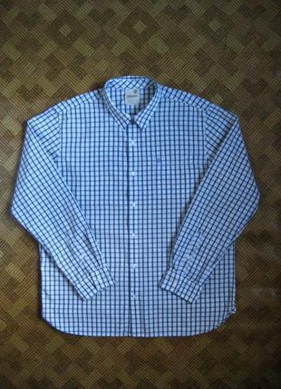 Мужская рубашка - timberland - тимберленд - размер xl - 52-54рр.