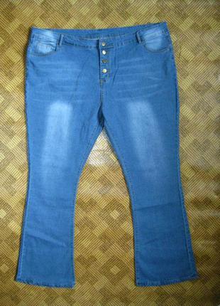 Джинсы брюки штаны батал большой размер pickyourlook 5xl / 64-...