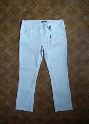 Джинсы брюки штаны белые укороченные denny rose италия размер ...