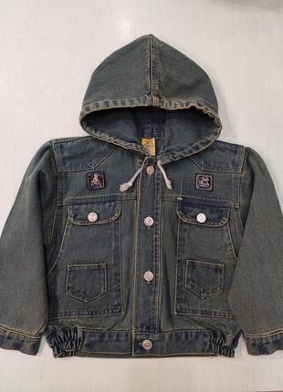 Джинсовая куртка, пиджак, джинсовка с капюшоном