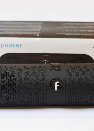 Портативная bluetooth MP3 колонка SPS XC36 Черная