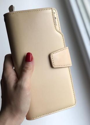 Женский кошелек baellerry business woman beige