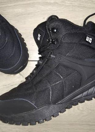 Термо ботинки мужские columbia waterproof деми осень