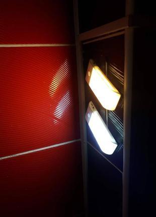 Светодиодный светильник, USB-заряд, датчик движения/освещения, ма