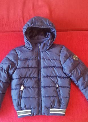 Куртка для мальчика на холодную осень (рост 140)