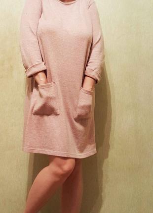 Уютное платье