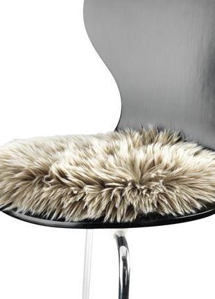 Круглая подушка на стуло , диаметр 34 см