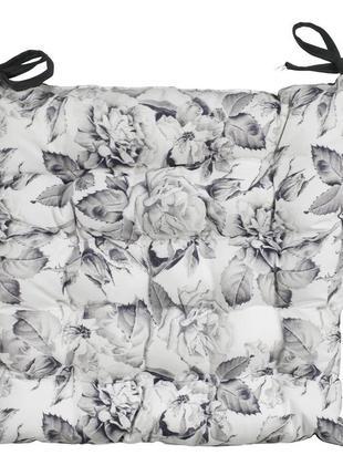 Красивая подушка  на стулья 40x40x5см в цветы