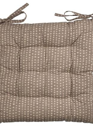 Стильная подушка на стуло 40x40x4см