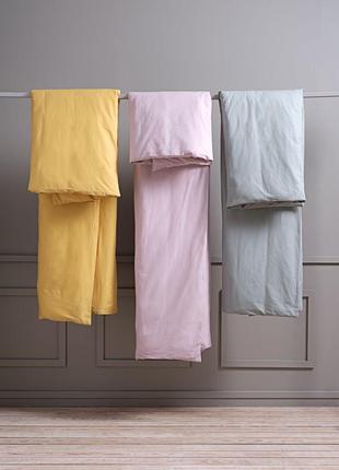 Комплект постельного белья 2-х спальный,  горчичный