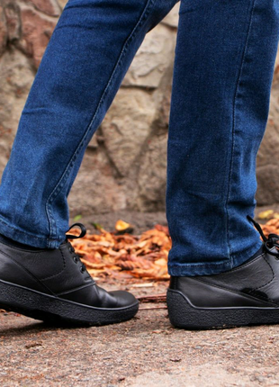 Шкіряне чоловіче взуття - осінь - весна