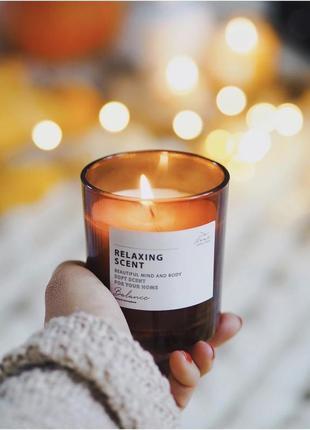 Ароматическая свеча с декоративной крышкой- пробка