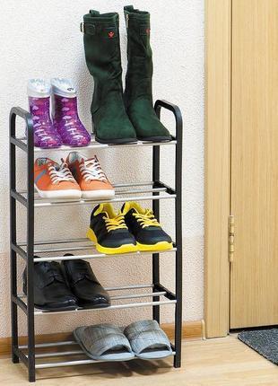 Полка для обуви, подставка для обуви на 5 полок
