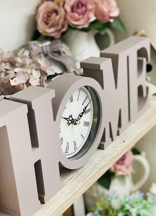 Часы home 4х39х15см . очень классные, стильные серые