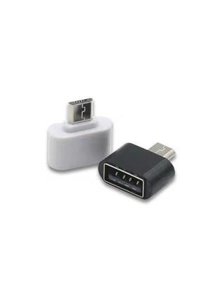 Мини адаптер OTG USB c Micro USB для Android