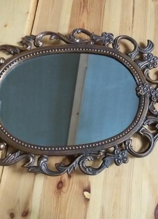 Зеркало, Дзеркало антикварне, винтаж, старинное, барокко