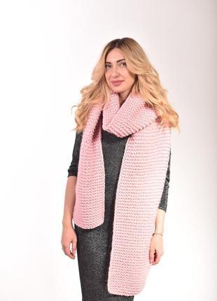 Женский теплый шарф. есть цвета!