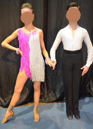 Платье для латиноамериканской программы для бальных танцев