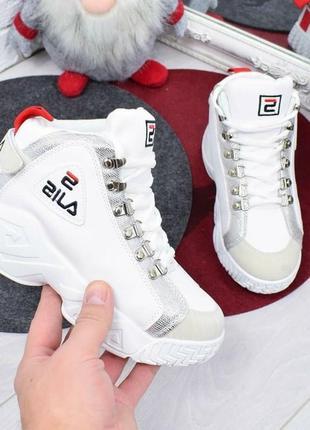 Утепленные ботинки высокие кроссовки евро зима осень женские к...