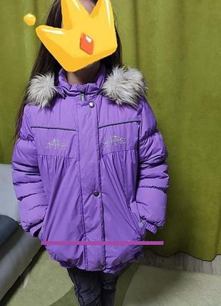 Зимняя куртка lenne  poppy 128-134