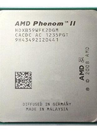 Процессор AMD 2 ядра 3.4 GHz Socket AM3 Phenom II X2 B59