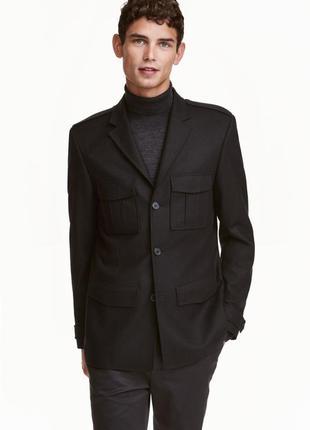 Пиджак из итальянской шерсти h&m
