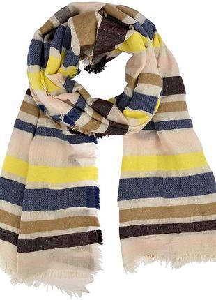Большой шикарный шерстяной шарф