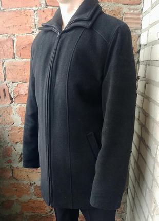 Тепла зимова ділова куртка-пальто з утеплюючою підкладкою