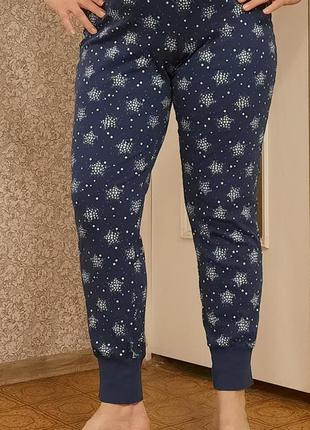 Женские трикотажные штаны, 100 % хлопок