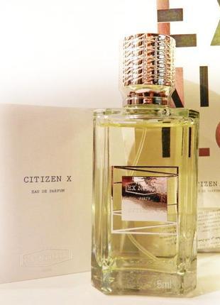 Ex Nihilo Citizen X_Оригинал EDP_3 мл затест парф.вода