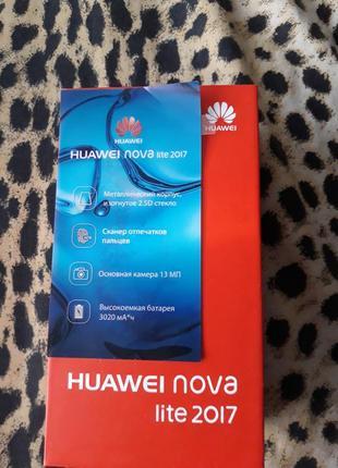 Смартфон Huawei nova lite 2017