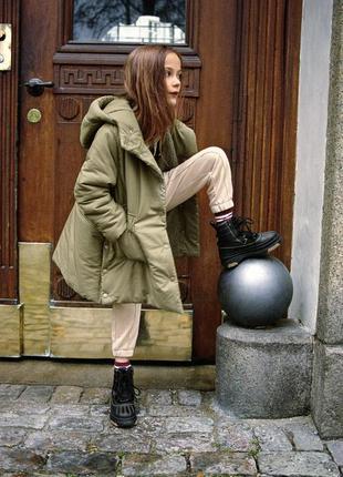 Куртка пальто Zara р.152, 164