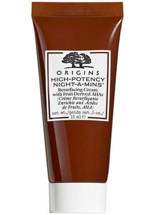 Ночной крем для лица origins high-potency night-a-mins resurfa...