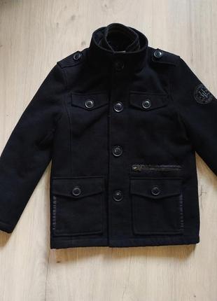 Очень модное стильное пальто, куртка на мальчика демисезонная ...