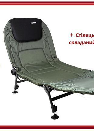 Карповая раскладушка, кресло, кровать