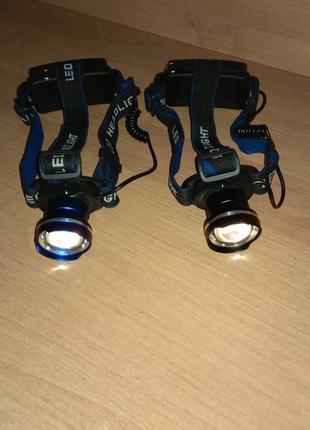 Налобный светодиодный фонарь Cree XM-T6 фонарь на голову лоб