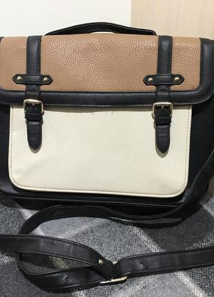 Женская сумка с длинной ручкой (оригинал разноцветная)
