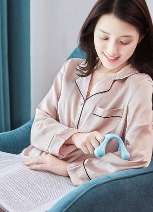 Массажер Xiaomi Le Fan Small Claws Mini Massager LF-HM001 голубой