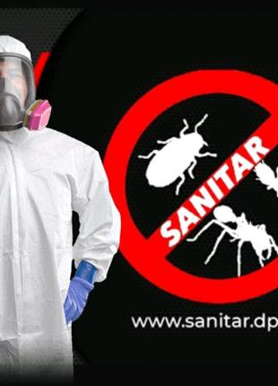 Уничтожение, травля, потравить тараканов Днепр